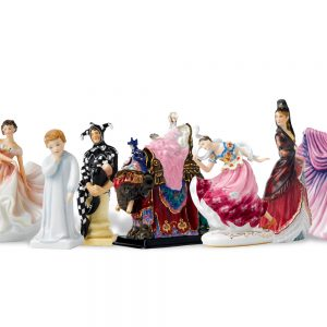 Set of 10 Miniature Figures - from HN Icons Collection - Royal Doulton Figurines