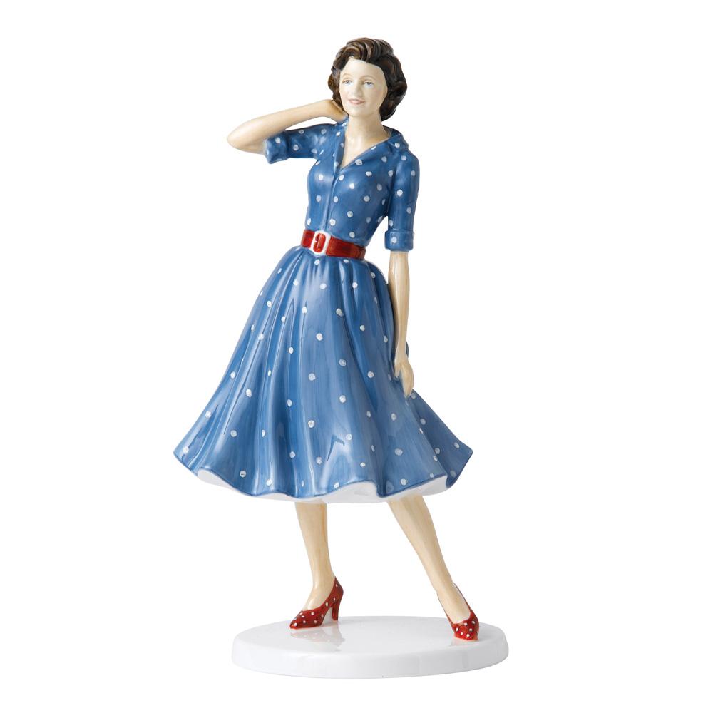 1950s Nancy HN5595 - Royal Doulton Figurine - Fashion Through the Decades