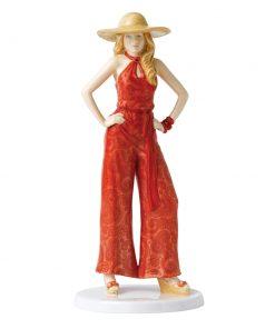1970s Charlie HN5597 - Royal Doulton Figurine - Fashion Through the Decades