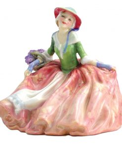 Annabella HN1872 green and blue - Royal Doulton Figurine