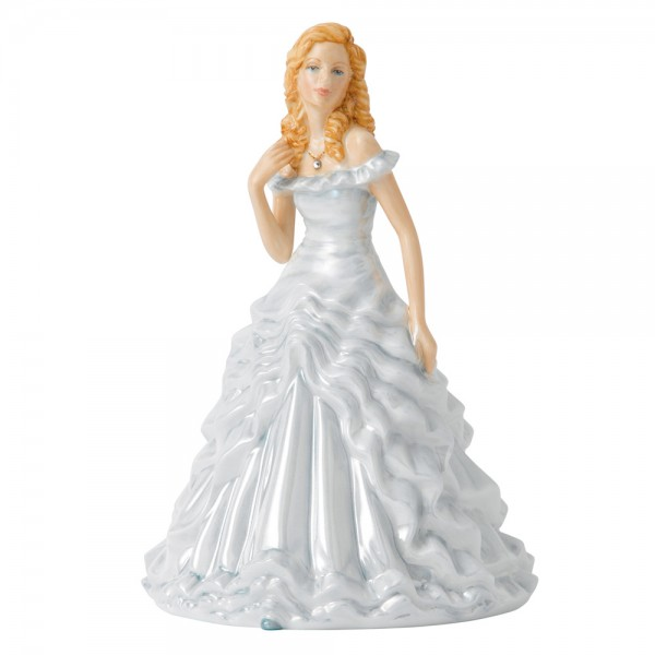 April Diamond HN5629 - Royal Doulton Figurine