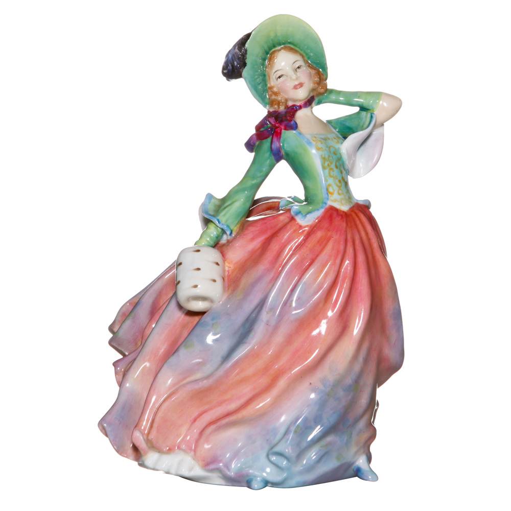 Autumn Breezes HN1911 - Prototype Variation - Royal Doulton Figurine