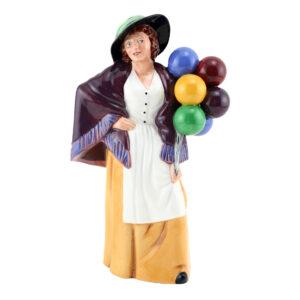 Balloon Lady (Mini) - Royal Doulton Figurine