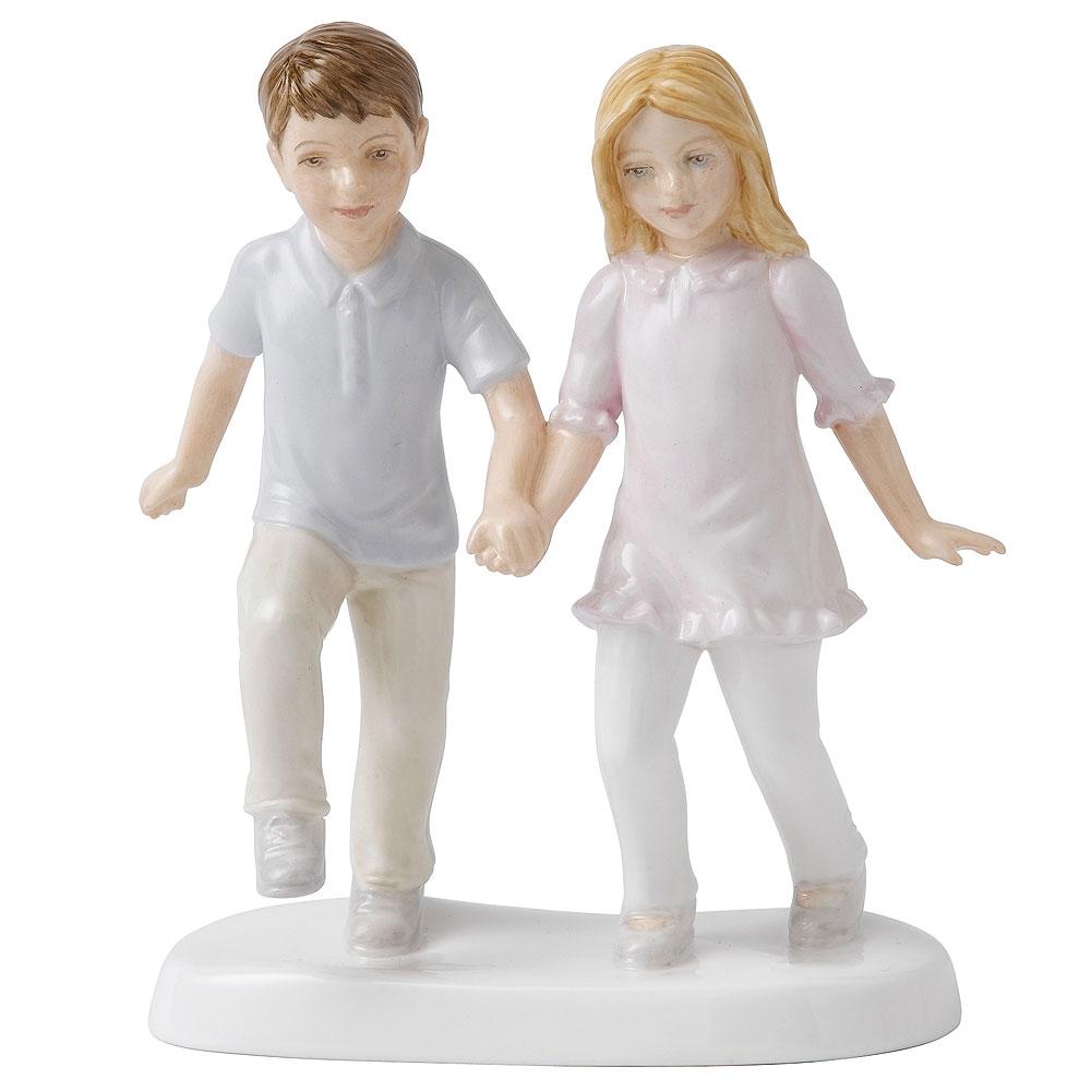 Best Friends HN5475  - Royal Doulton Figurine