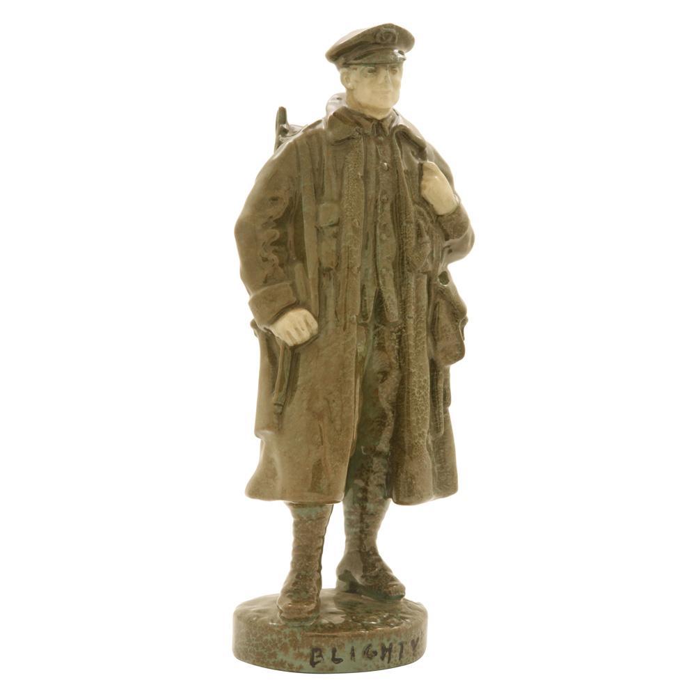 Blighty (Khaki Coloration) HN323 - Royal Doulton Figurine