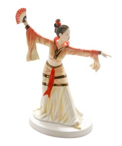 Chinese Fan Dance HN5568 - Royal Doulton Figurine