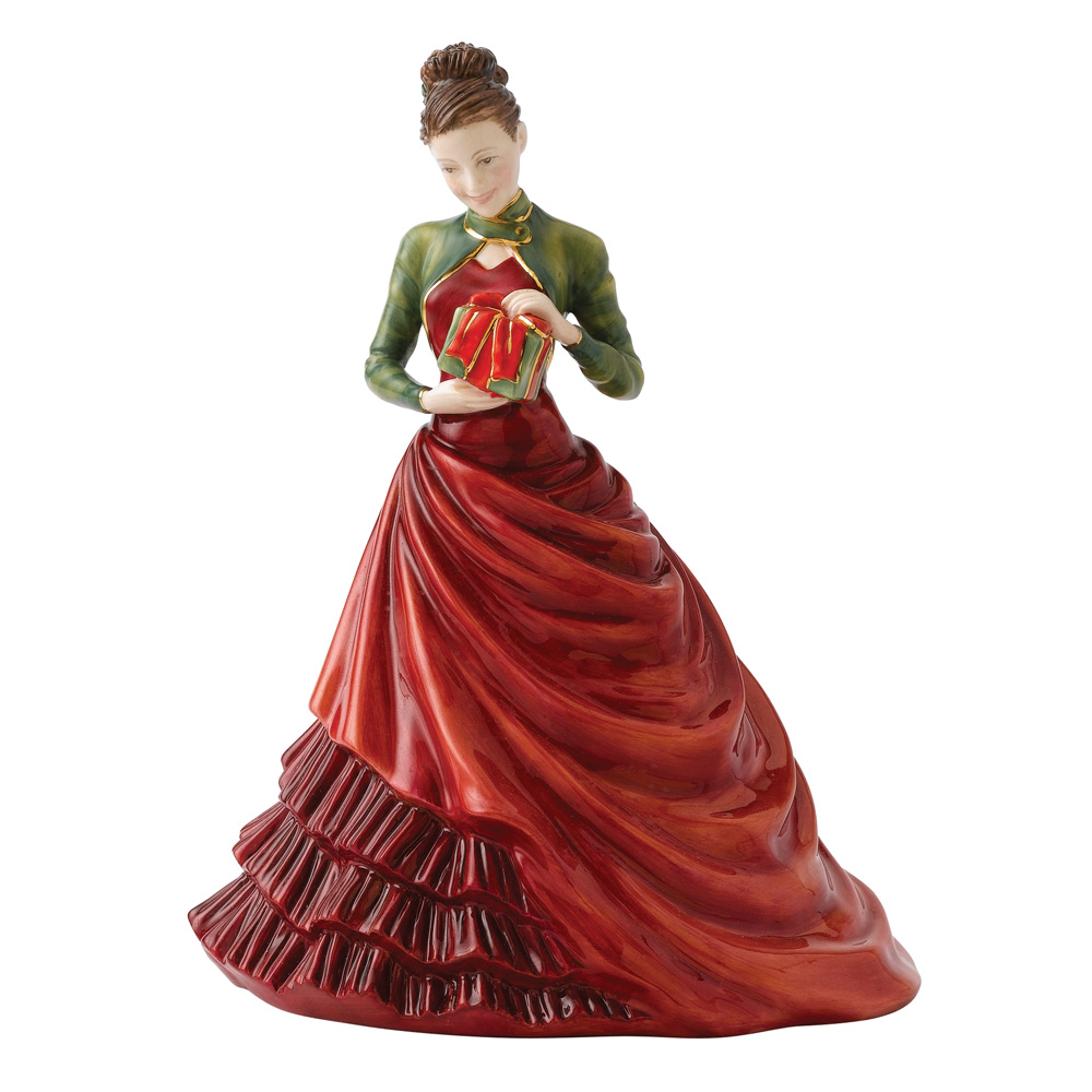 Christmas Day 2012 HN5547 - Royal Doulton Petite Figurine