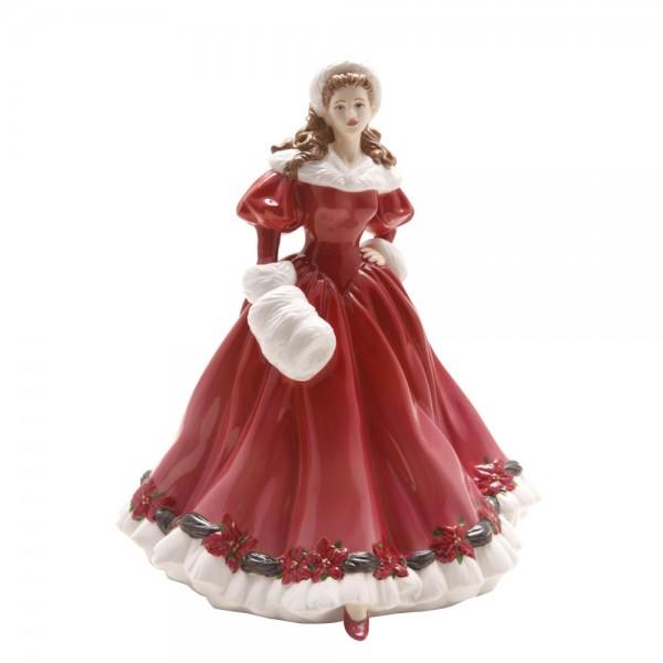 Christmas Morning HN4894 - Royal Doulton Figurine