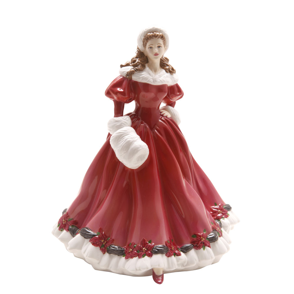 Christmas Morning HN4894 - Royal Doulton Figurine