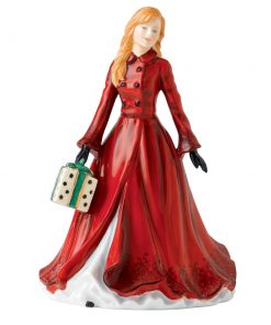 Christmas Time HN5584 - 2013 Christmas Day Petite - Royal Doulton Figurine