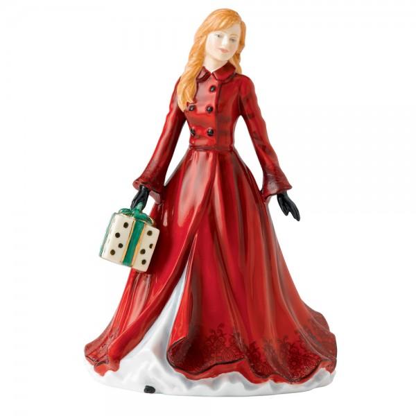 Christmas Time HN5584 - 2013 Christmas Day Petite - Royal Doulton Figurine