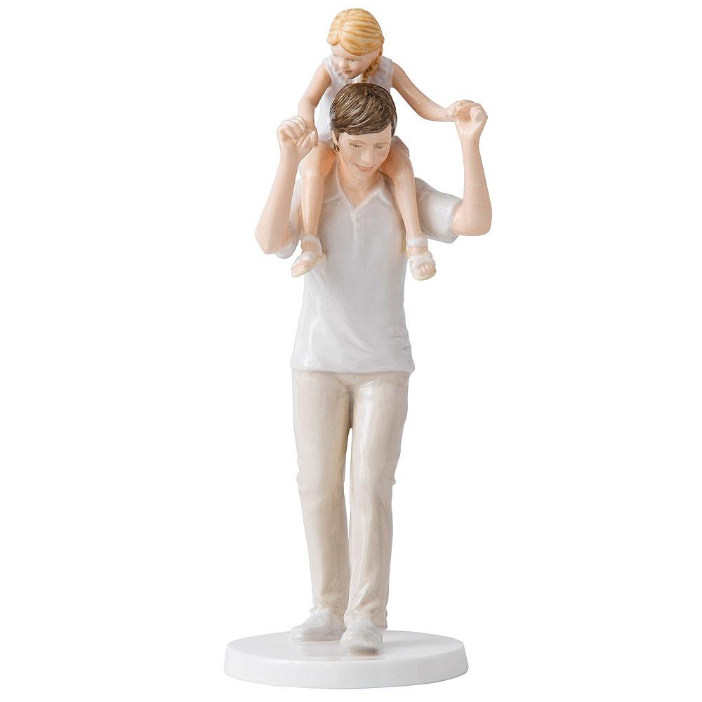 Daddys Girl HN5479 - Royal Doulton Figurine