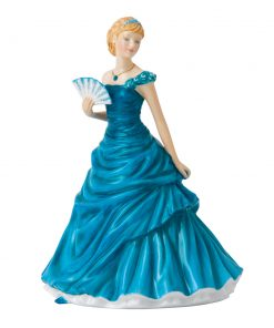 December Turquoise HN5637 - Royal Doulton Figurine