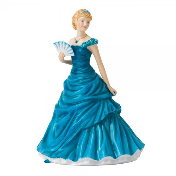 December Turquoise HN5637 - Royal Doulton Figurine