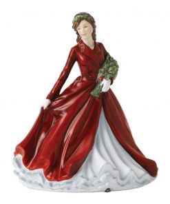 Deck The Halls HN5606 - Royal Doulton Figurine