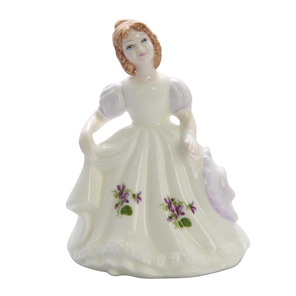 February HN3331 - Royal Doulton Figurine