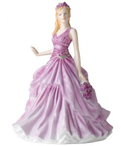 February HN5501  - Royal Doulton Petite Figurine