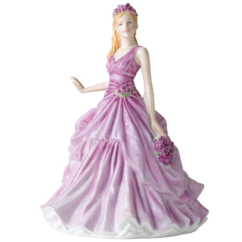 February HN5501  - Royal Doulton Petite Figurine