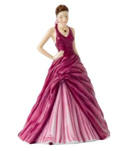 February Amethyst HN5627 - Royal Doulton Figurine