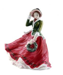 Festive Wishes HN4898 - Royal Doulton Figurine