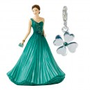 Four Leaf Clover Charm (Petite) HN5738 - Royal Doulton Figurine