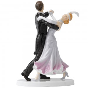Fox Trot HN5445 - Royal Doulton Figurine - Dance Collection
