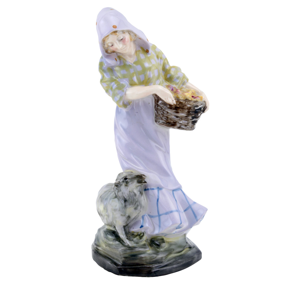 Fruit Gathering HN476 - Royal Doulton Figurine