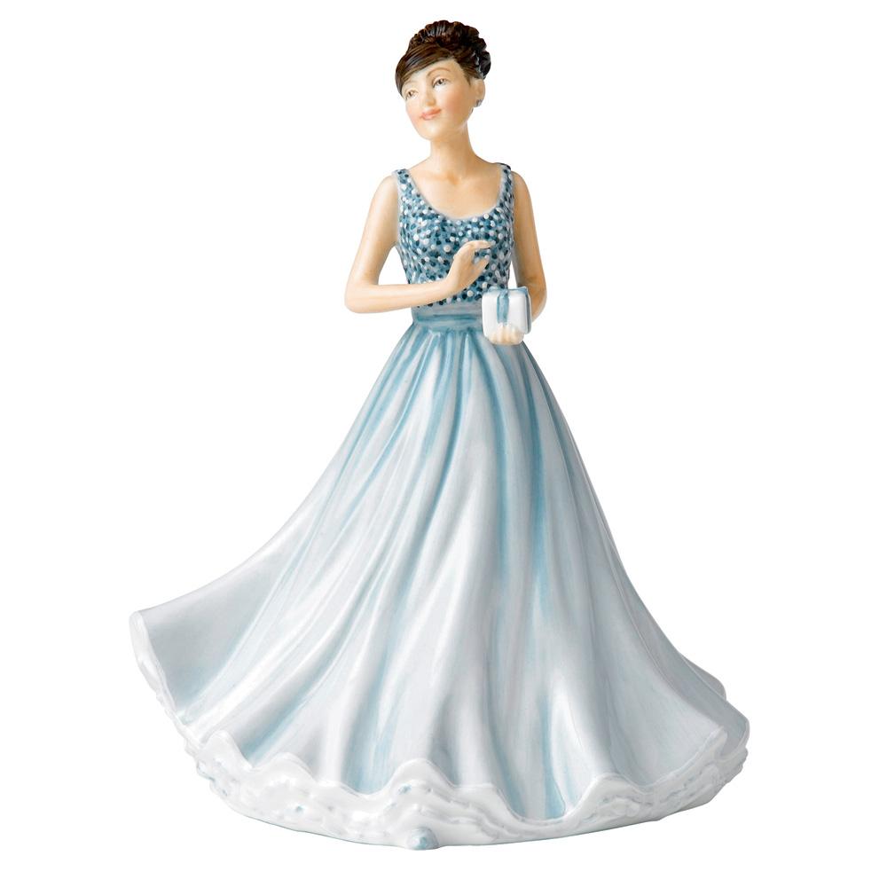 Happy Anniversary (Mini) HN5685 - Royal Doulton Figurine