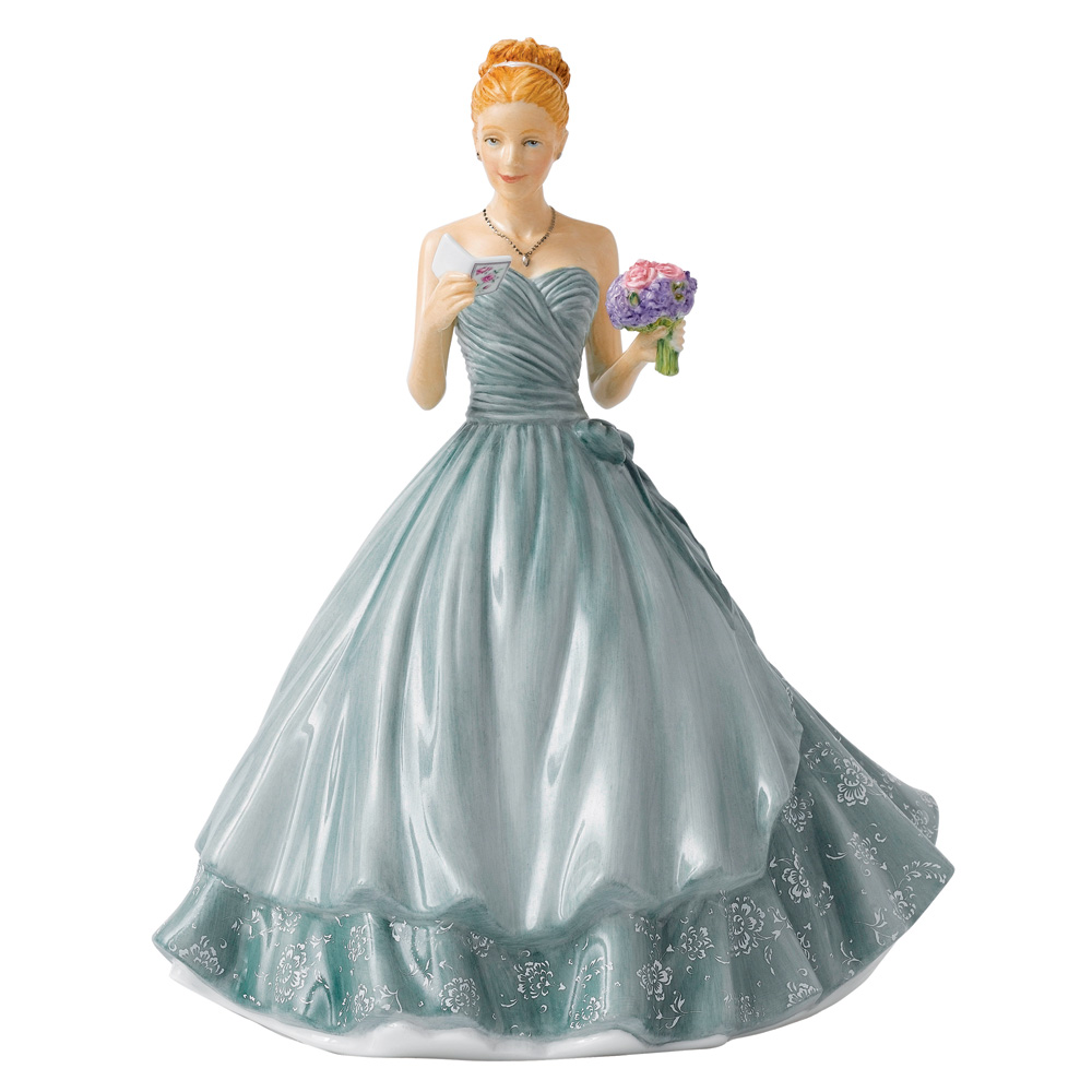 Happy Birthday 2015 HN5729 - Royal Doulton Figurine