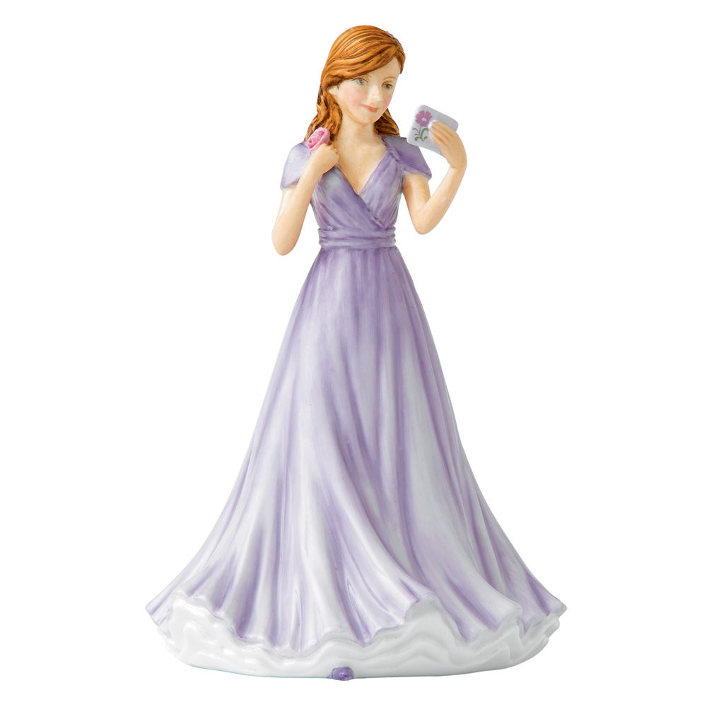 Happy Days (Mini) HN5687 - Royal Doulton Figurine