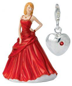 Heart Charm (Petite) HN5739 - Royal Doulton Figurine