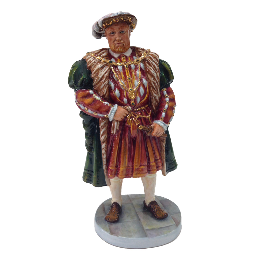 Henry VIII HN3458 - Prototype Variation - Royal Doulton Figurine
