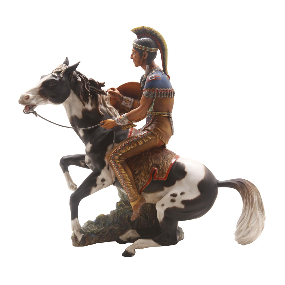 Indian Brave Trial - Royal Doulton Figurine