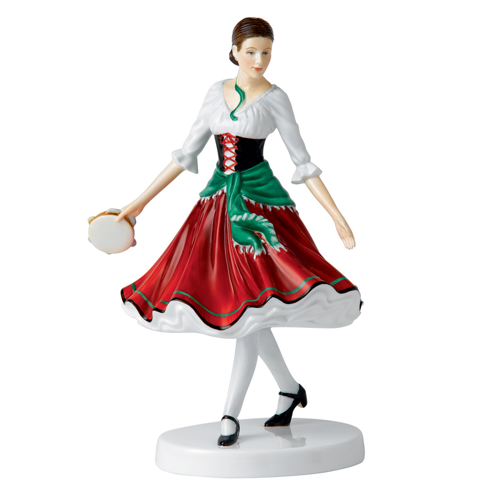 Italian Folk Dance HN5644 - Royal Doulton Figurine