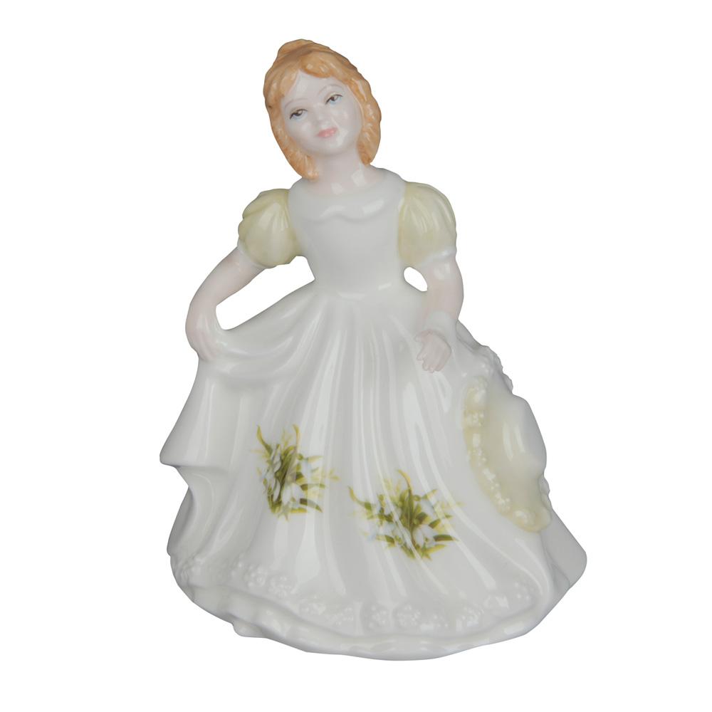 January HN3330 - Royal Doulton Figurine