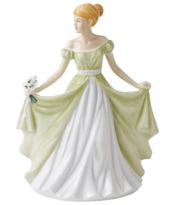 January HN5500  - Royal Doulton Petite Figurine