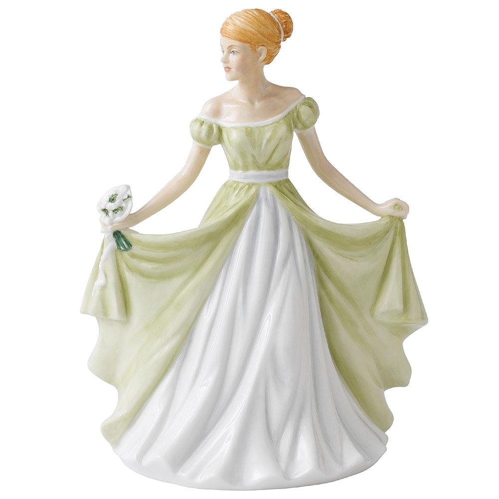 January HN5500  - Royal Doulton Petite Figurine