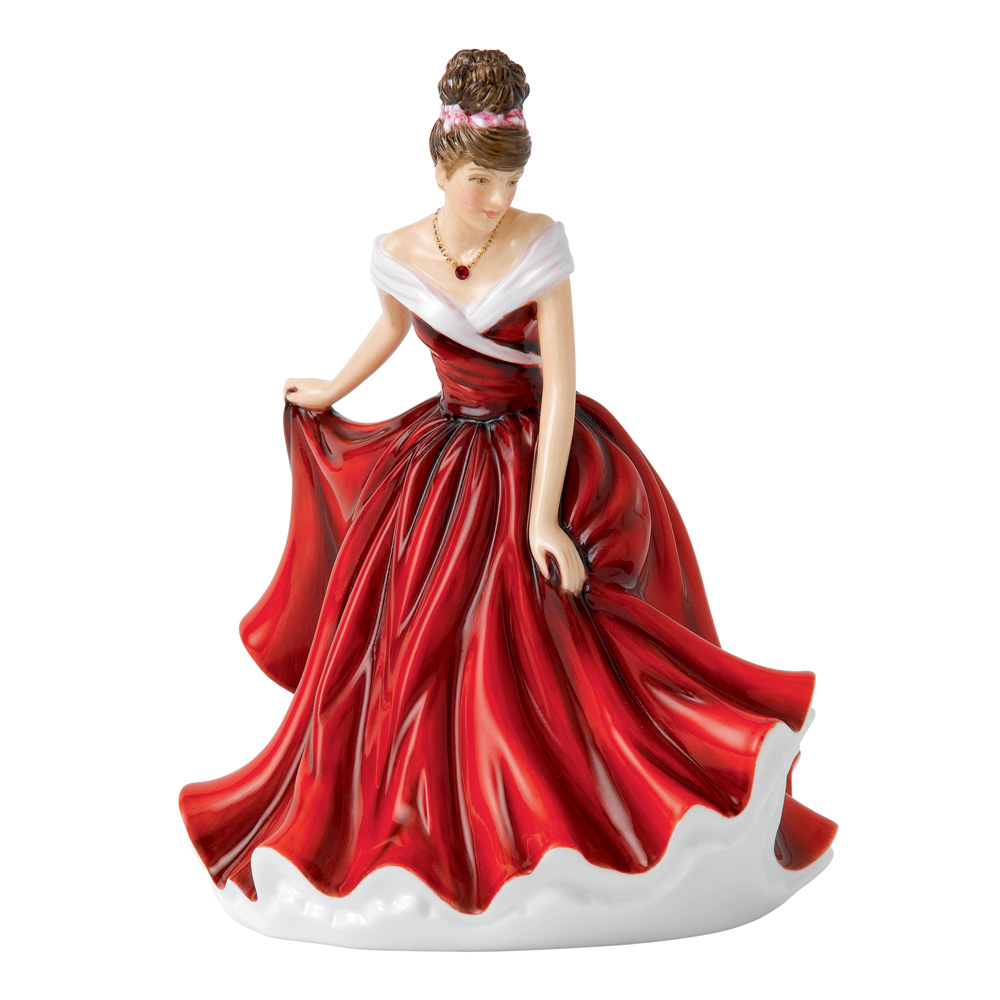 January Garnet HN5626 - Royal Doulton Figurine