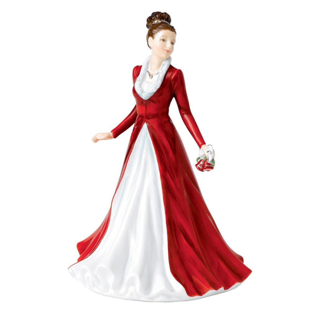 Jingle Bells HN5699 - Royal Doulton Figurine