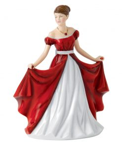 July Ruby HN5632 - Royal Doulton Figurine