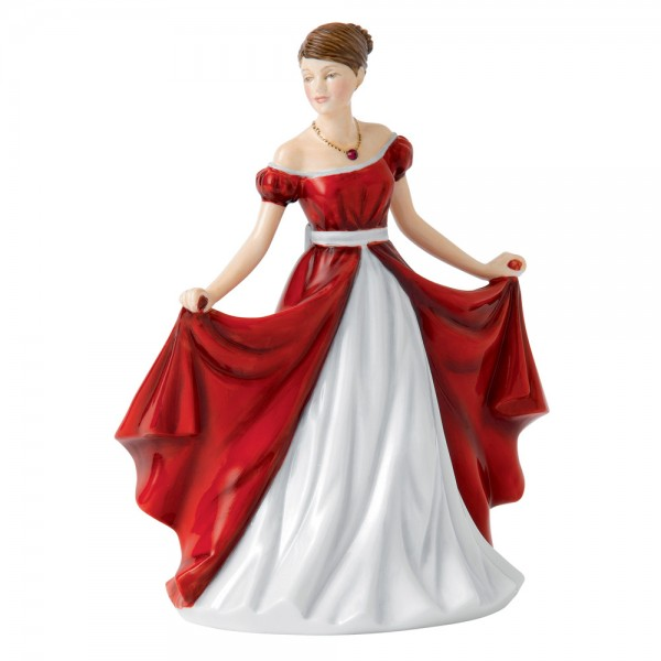 July Ruby HN5632 - Royal Doulton Figurine
