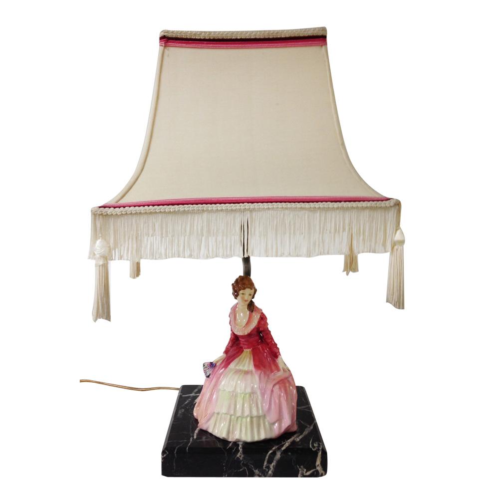 Lady Charmian HN1949 - Royal Doulton Lamp Figurine