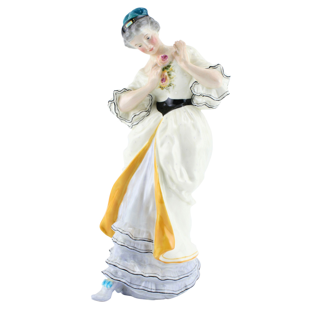 Lady with Rose HN48A - Royal Doulton Figurine