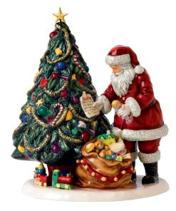 Letters To Santa HN5585 - 2013 Father Christmas Character Figure of the Year - Royal Doulton Figurine