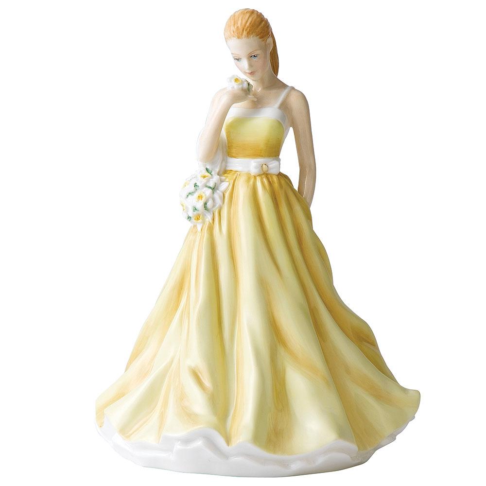 March HN5502  - Royal Doulton Petite Figurine