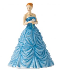 March Aquamarine HN5628 - Royal Doulton Figurine