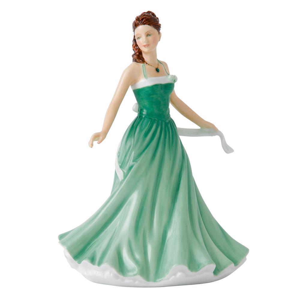 May Emerald HN5630 - Royal Doulton Figurine