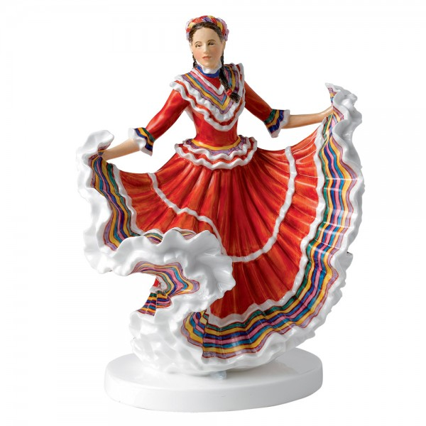 Mexican Hat Dance HN5643 - Royal Doulton Figurine
