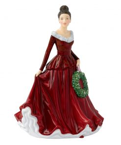 Mistletoe and Wine HN5701 -  Royal Doulton Figurine