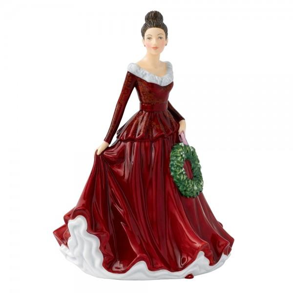 Mistletoe and Wine HN5701 -  Royal Doulton Figurine
